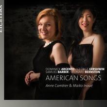 Argento - Gershwin - Barber - Bernstein: Songs