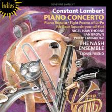 LAMBERT:Concerto per piano e altre opere
