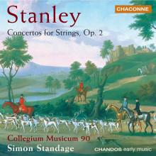 STANLEY: Concerti per archi