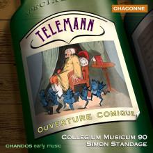 Telemann: Overtures Comiche