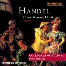 HANDEL: Concerti Grossi vol 1