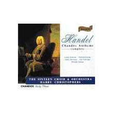 HANDEL: Chandos Anthems (4CDs)