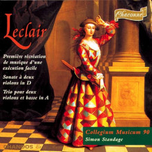 LECLAIR: Sonate per violino