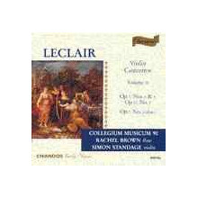 Leclair: Concerti Per Violino Vol.2