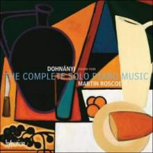 DOHNANYI: Musica per piano solo - Vol.4