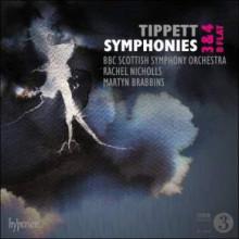 Tippett:sinfonie Nn.3 & 4 E Si Bemolle