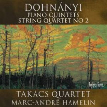 Dohnanyi: Piano Quintets - String Quartet