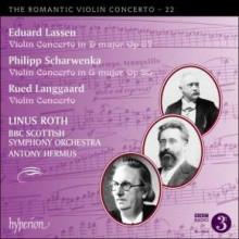LASSEN - SCHARWENKA:  Violin conc - Vol.22