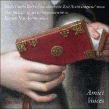 BACH: Actus tragicus e altre op. vocali