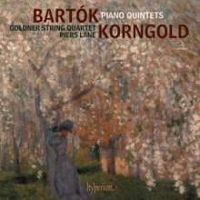 BARTOK - KORNGOLD: Quintetti per piano