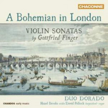 FINGER GOTTFRIED: Sonate per violino