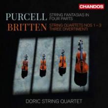 PURCELL - BRITTEN: Quartetti per archi