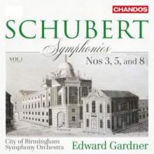 SCHUBERT: Sinfonie NN.3 - 5 - 8  Vol.1