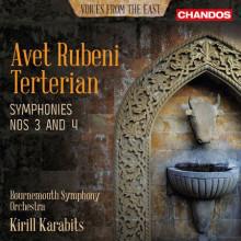 TERTERIAN AVET RUBENI: Sinfonie NN.3 & 4