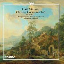 STAMITZ: Concerti per clarinetto e orchestra