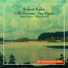 KAHN ROBERT: Opere per cello e piano