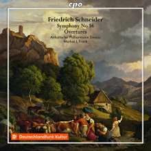 SCHNEIDER F.: Sinfonia N.16 - Overtures