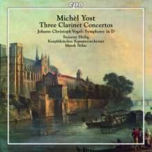 YOST MICHEL: 3 Concerti per clarinetto