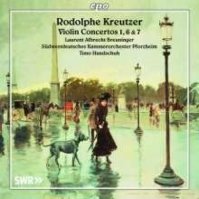 Kreutzer: Concerti X Violino Nn.1 - 6 & 7