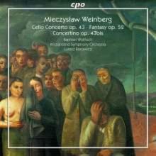 WEINBERG: Cello Concerto - Fantasia Op.52