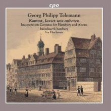 Telemann: Cantate Inaugurali Per Amburgo