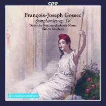 GOSSEC: Sinfonie - Op.4 NN.1 - 6