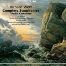 WETZ: Integrale delle Sinfonie