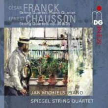 FRANCK - CHAUSSON: Quartetti per archi
