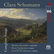 CLARA SCHUNMANN: Integrale dei Lieder