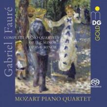 FAURE: Integrale quartetti per piano