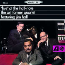 THE ART FARMER QUARTET: Live at the Half