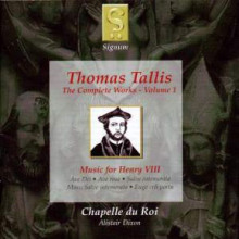 Tallis Thomas: Volume 1