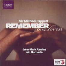 TIPPETT: Remember you Lovers - canzoni