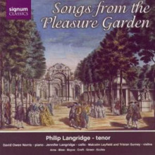 Aa.vv.: Songs From The Pleasure Garden