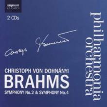 Brahms: Sinfonie Nn.2 & 4