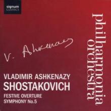 Shostakovich:festive Overture - Sinfonia 5