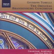 Torelli:the Orginal Brandenberg Concerts