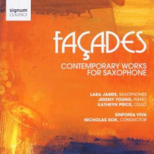 Façades: Contemporary Works for Sax
