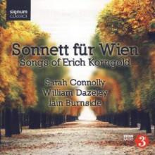 Korngold: Sonnett Für Wien