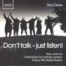 Don't Talk - Just Listen