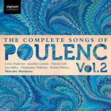 Poulenc Songs Vol. 2