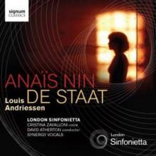 Anaïs Nin - De Staat - Andriessen