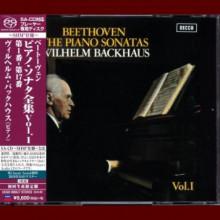 BEETHOVEN: Piano Sonatas - Vol.1 - Backhaus