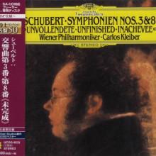 SCHUBERT: Sinfonie NN.3 & 8