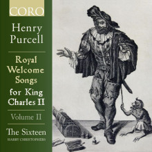 PURCELL: Royal Welcome Songs for King Charles II - Vol.2
