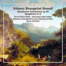 BRANDL J.E.:Sinfonia Concertante Op.20 e altre opere