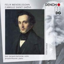 MENDELSSOHN - SAINT - SAENS: Sonate per violino