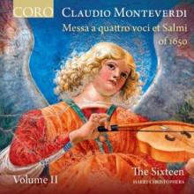 Monteverdi: Messa A Quattro Voci Et Salmi 1650