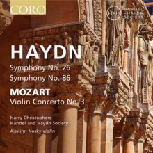 HAYDN: Sinfonie NN:26 & 86 MOZART: Violin Concert N.3
