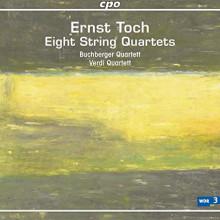 Toch Ernest: Integrale dei quartetti per archi